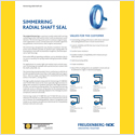 Thumbnail of radial shaft seal brochure